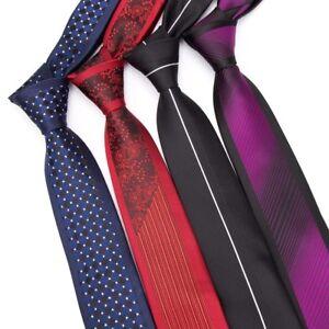 Men-039-s-Tie-Luxurious-Striped-Necktie-Business-Wedding-Dress-Formal-Jacquard-Ties