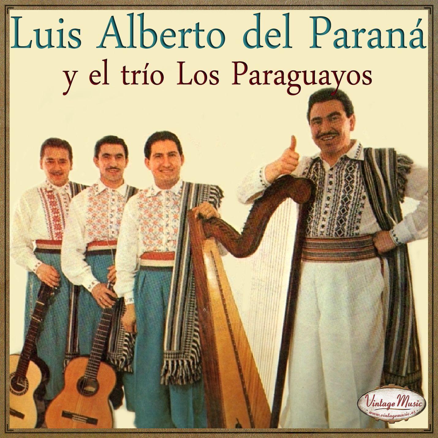 LUIS ALBERTO DEL PARANA TRIO PARAGUAYOS - LUIS ALBERTO DEL PARANA Y TRIO PARAGUAYOS iLatina CD 335 Guantanamera .... - CD