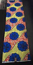 Colourful African Wax Print Fabric (Ankara). Sold Per Yard