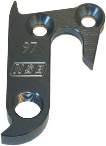 North Shore Billet DH 0097 Norco Fluid rev 2 Derailleur Hanger