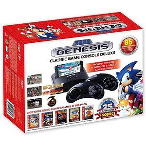 Sega genesis classic game console deluxe 2016 85 games w - Sega genesis classic game console games ...