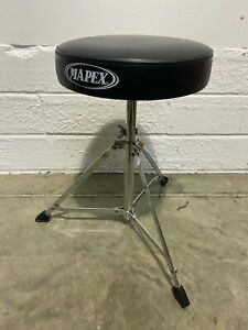 Mapex-Drum-Stool-Single-Braced-Leather-Topped-DT040