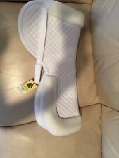 HALF PAD FOR LARGE SADDLES WITH WITHER RELIEF SADDLE PAD