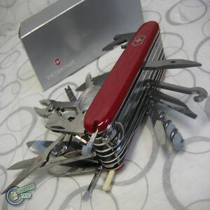 1 6795 35763 Victorinox Swiss Army Knife Swisschamp Champ