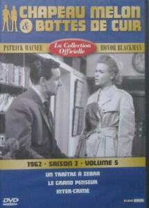 DVD-NEUF-CHAPEAU-MELON-amp-BOTTES-DE-CUIR-1962-SAISON-2-VOLUME-5