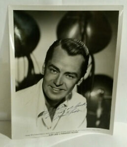 Alan Ladd Hollywood actor hand signed photo autograph 1949 Paramount Pictures