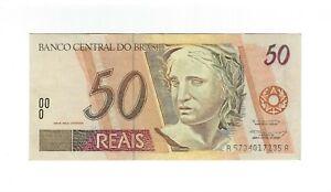 50-reais-Bresil-1995-c313-p-246f-Serie-AA-Brazil-billet