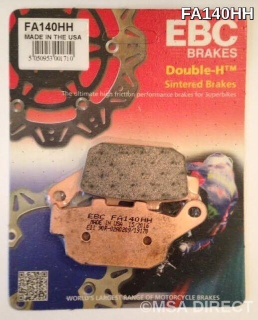 Triumph TT600 (2000 to 2003) EBC Sintered REAR Brake Pads (FA140HH) (1 Set)