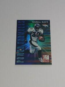 1999-Donruss-Elite-Power-Formulas-2-Terrell-Davis-SP-D-3500-RARE