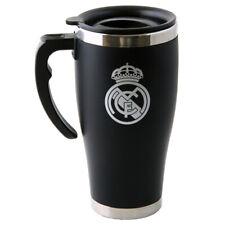 Tottenham BOXED Aluminium Travel Mug With Handle Club Tea Coffee Thermos Flask