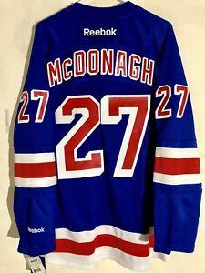 Reebok Premier NHL Jersey New York Rangers Ryan McDonagh Blue sz L ... e3da90a4f