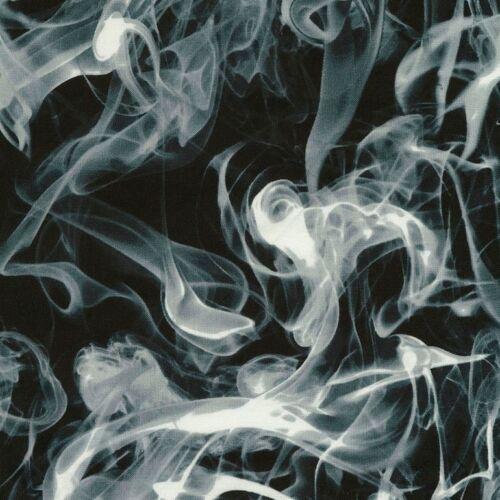 Timeless Treasures Fabric 100/% Cotton Black Wicked Smoke