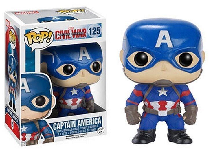 FUNKO POP Marvel Series  Civil War VINYL Pop FIGURES CHOOSE YOURS