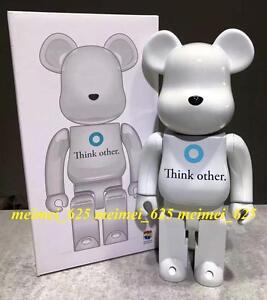 Bearbrick Medicom 2016 i am OTHER Metallic White 400% Be@rbrick Think other