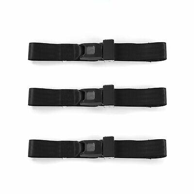 2 Belts Dodge Dart 1967-1976 Standard 2pt Gray//Grey Lap Bucket Seat Belt Kit