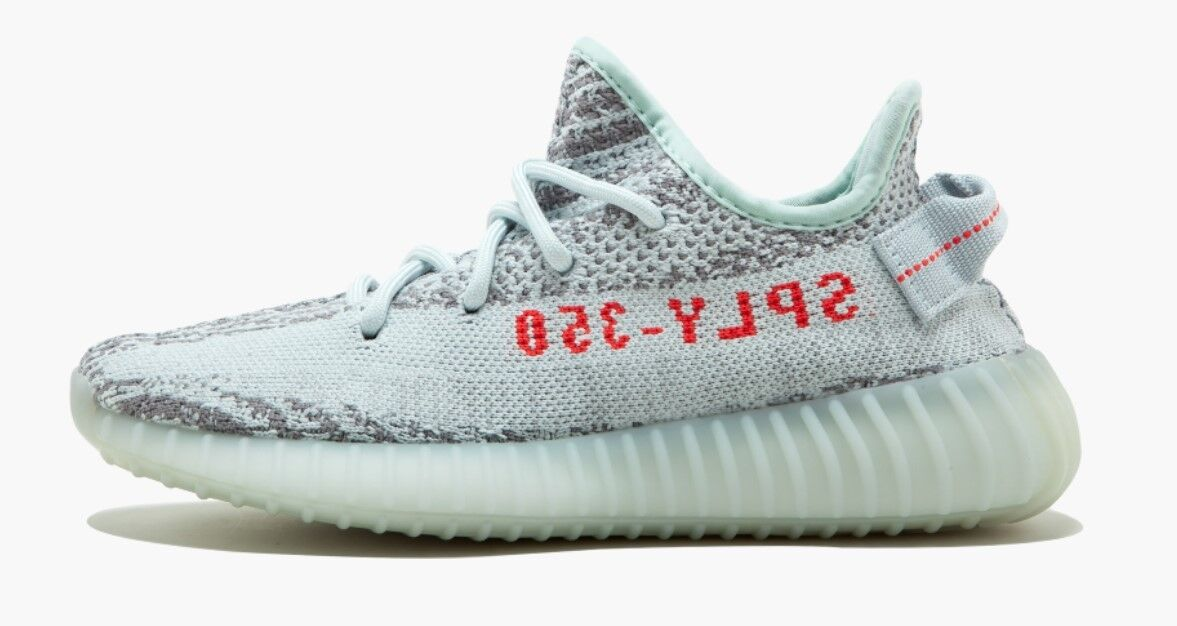 Adidas Yeezy Boost 350 bluee Tint Grey US 7 Kanye West Limited Release B37571