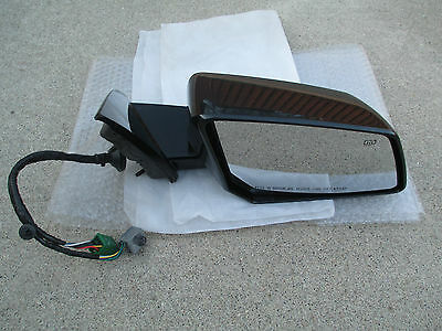 07-12 GMC ACADIA PASSENGER SIDE POWER FOLDING MEMORY AUTO MIRROR P//N 25842048