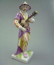 NP 2.456,-€ KPM Berlin Figur Malabar Chinese mit Gitarre H.23 cm  1.Wahl TOP