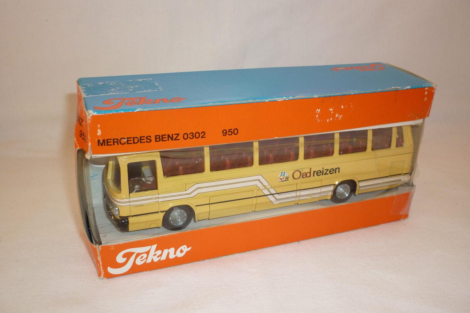 Tekno vintage modéle en métal MERCEDES-BENZ Bus de voyage voyage voyage - | Matériaux De Grande Qualité  | à La Mode  | élégante Et Gracieuse  926538