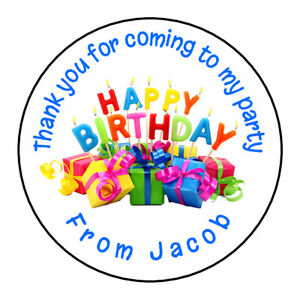 Happy-Birthday-Fun-Personalised-Thank-You-Sticker-Party-Bag-Sweet-Cone-Birthday