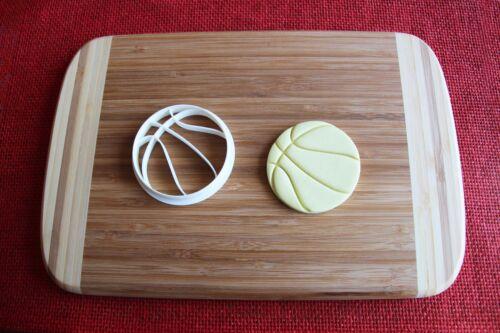Basketball Cookie Cutter Ball Sports Cake Topper Fondant Cutter Cupcake
