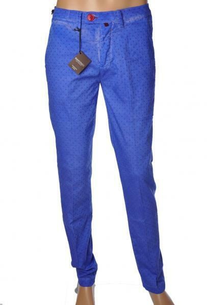 Baronio  -  Pants - Male - bluee - 2047312A184436