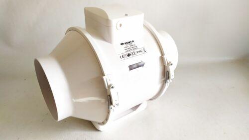 Aspiratore ventilatore da canale Ø 125 mc-h min 240 max 320 silenzioso