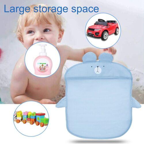 Bathroom Folding Durable Baby Kids Bear Bath Toys Pouch Storage Net Mesh Bag TP