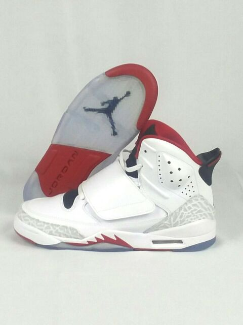 factory price 9fb44 524d5 Nike Air Jordan Son Of Mars White Red Black 512247 112 GS Sz 2Y