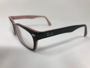 d16444d17f Ray-Ban Womens Eyeglasses RB5150-5024 50-19-135 Glossy Black Pink ...