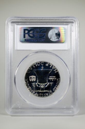 PR66 1961 PCGS GRADED FRANKLIN 90/% SILVER HALF DOLLAR 50C PROOF COIN LIBERTY US