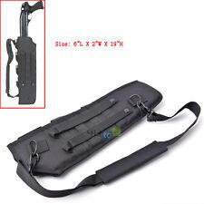 """19"""" Tactical Hunting Shotgun Rifle Scabbard Bag Shoulder MOLLE Sling Holster"""