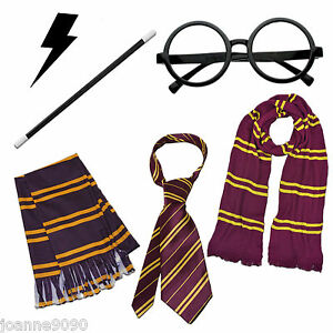 WIZARD-FANCY-DRESS-COSTUME-BOOK-WEEK-HARRY-POTTER-STYLE-ACCESSORIES-MAGIC-LOT