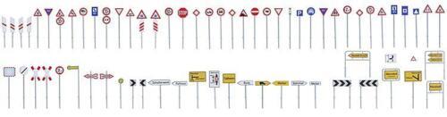 Faller 180534 kit señales de tráfico-set