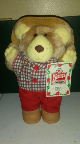 Vintage 1986 Plush Furskins Wendy/'s Bear