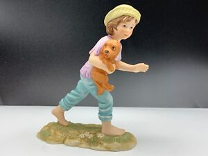 Goebel-Figurine-Martine-Girl-With-Dog-6-1-2in-1-Choice-Top-Condition