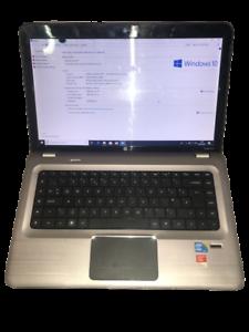 FAULTY HP Pavilion dv6-3140sa Laptop  I5 2.53ghz 4GB 500GB Bluray Windows 10