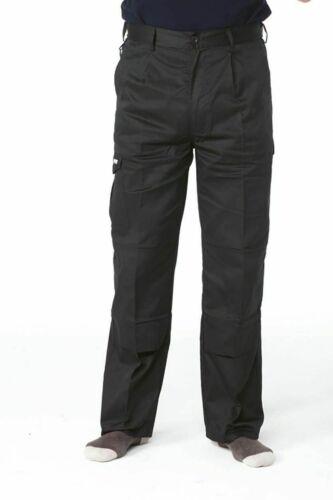 Apache INDUSTRY black kneepad cargo work//driver trouser 28-48 S//R//T