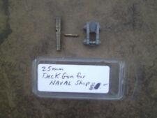 25mm  Unknown make  Deck Gun  for Naval Ship