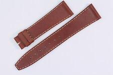 FORTIS Uhrenarmband 20mm Braun Kalbsleder Anstoß: 20mm/16mm ohne Schließe