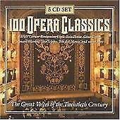 100 Opera Classics [Regular Box] (2001) 5 CD BOX SET OPERA MUSIC CLASSICAL (K22)