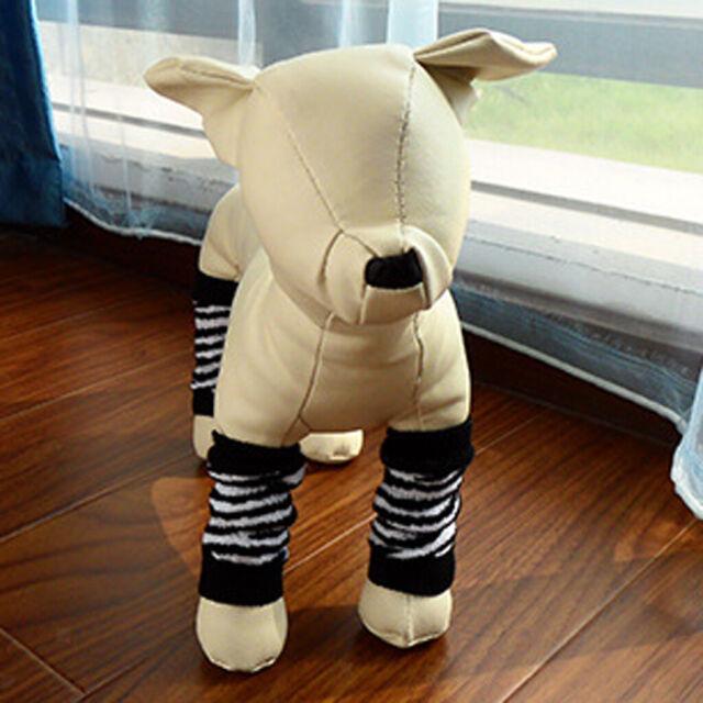 Knitted Dog Leg Warmer Bandage Socks Reinforcement, Puppy ...