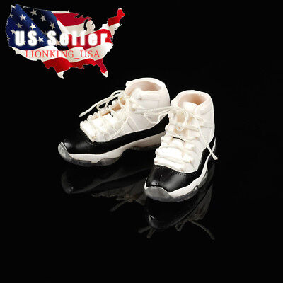 """1//6 Shoes Air Jordan Sneakers HOLLOW For 12/"""" Hot Toys PHICEN Male Figure ❶USA❶"""