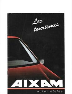 Aixam La Remise En Mains Propres, Van Et Châssis Cab Français Brochure 1990-afficher Le Titre D'origine Hz7jk4la-07222130-758410254
