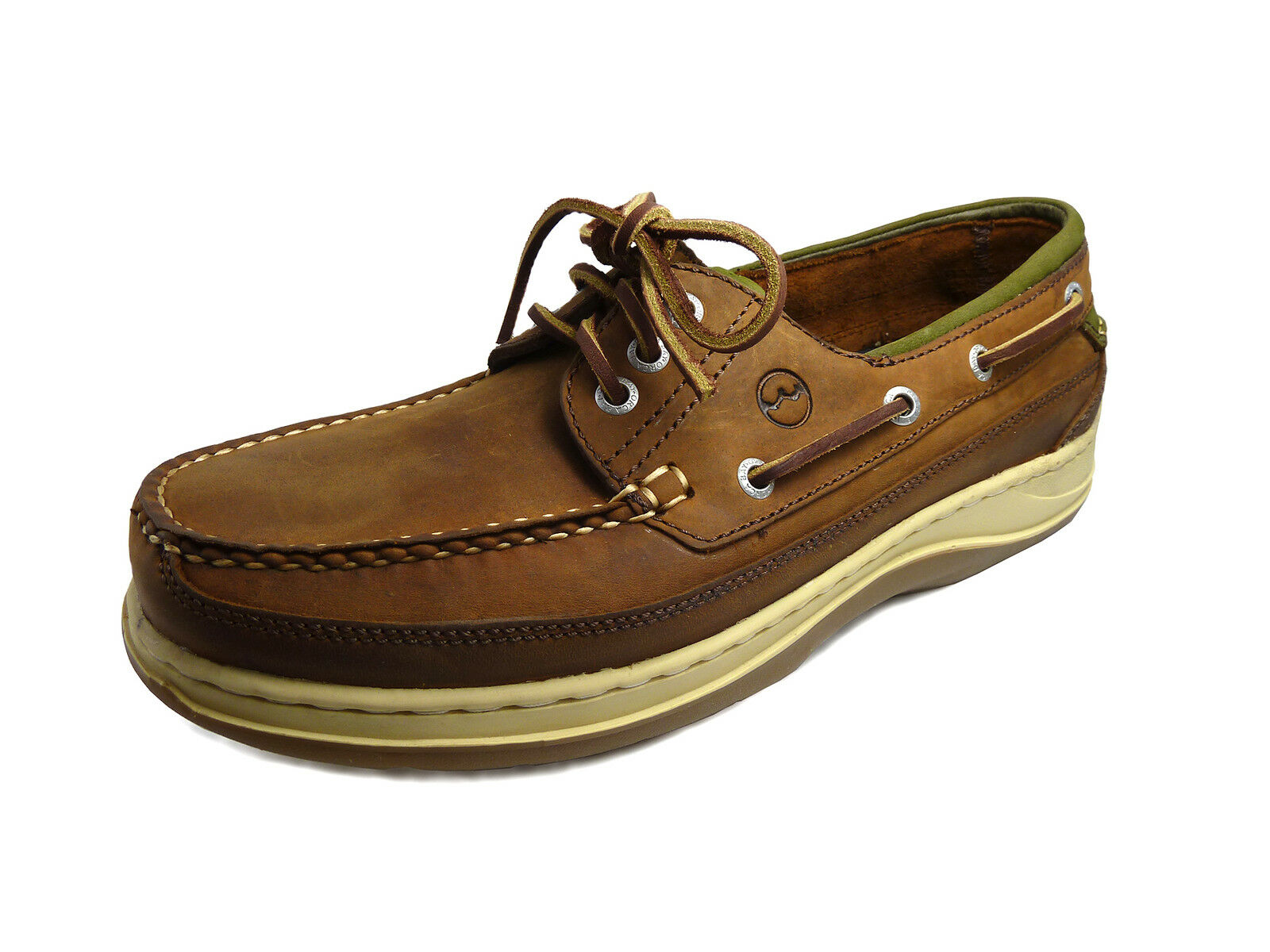 Orca Bay Squamish Men's Performance Boat Shoe - 100% hand-stitched leather