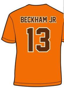 buy online cf140 ec7c3 Details about CLEVELAND BROWNS ODELL BECKHAM JR T SHIRT OBJ #13 Jersey  Style T Shirt OBJ