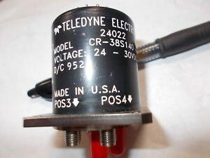 TELEDYNE-ELECTRONIC-CR-38S140-24-30VDC-Unused