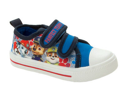Official Paw patrol flashing canvas,pumps shoes trainers Uk stock