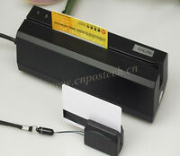 Encoder 3-Track Magnetic Stripe ID Card Writer Reader W/Portable Reader MINI300