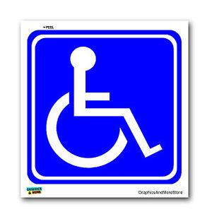 Disabled-Wheelchair-Symbol-BLUE-Handicapped-Window-Bumper-Sticker